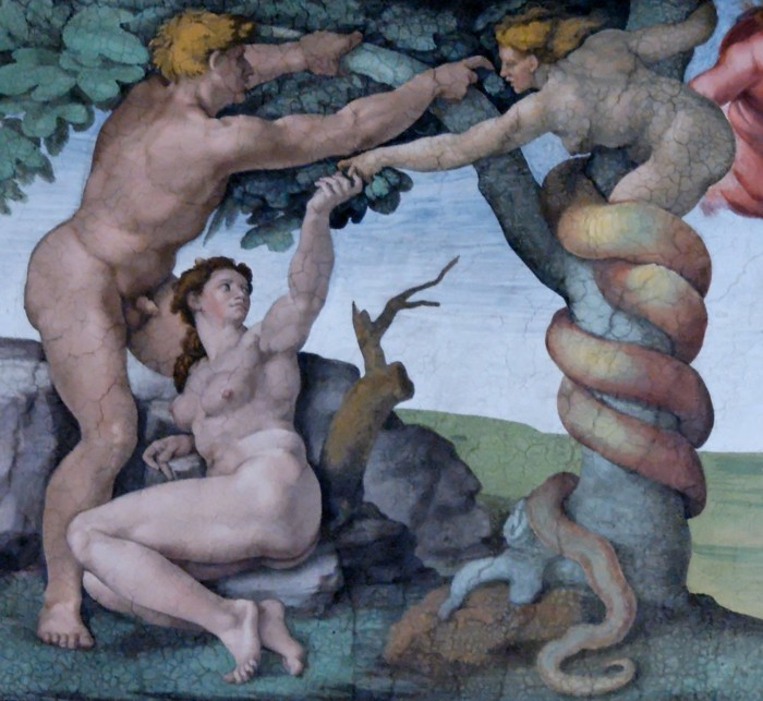 Adam_and_Eve,_Sistine_Chape croppedl