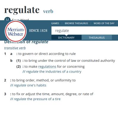 Screenshot_2020-02-20 Definition of REGULATE