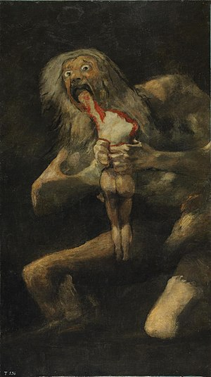Saturn Francisco Goya